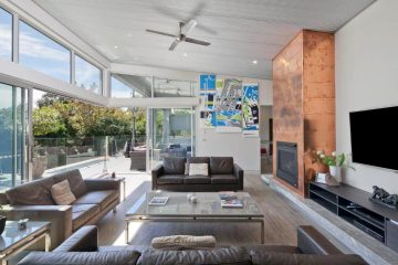 Newly installed aluminium sliding system in Canberra